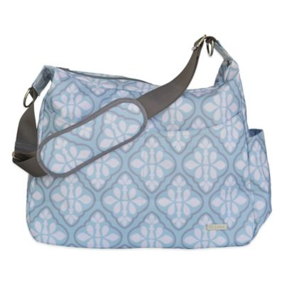 JJ Cole® Linden Diaper Bag in Blue Iris