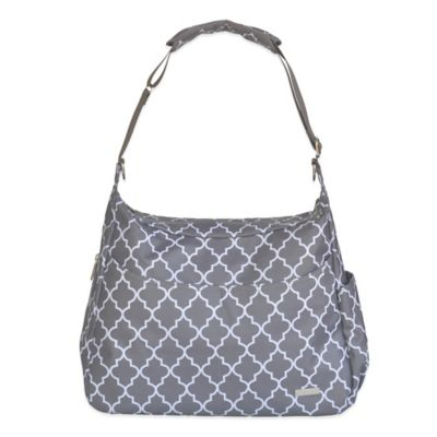 JJ Cole® Linden Diaper Bag in Stone Arbor