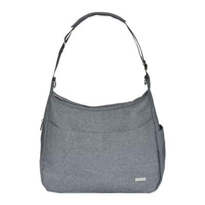 JJ Cole® Linden Diaper Bag in Grey Heather