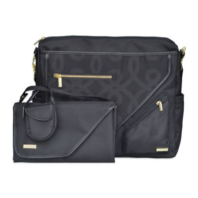 JJ Cole Metra Bag in Black/Gold