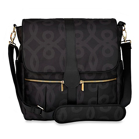 jj cole backpack diaper bag in black gold. Black Bedroom Furniture Sets. Home Design Ideas