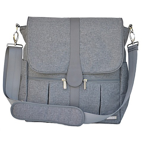 jj cole backpack diaper bag in grey heather. Black Bedroom Furniture Sets. Home Design Ideas