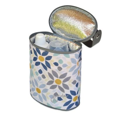 JJ Cole Bottle Cooler in Prarie Blossom
