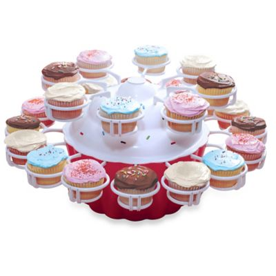 Merry-Go-Round Cupcake Server