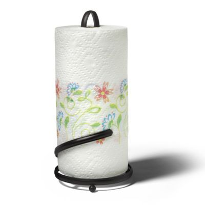 Spectrum™ Ashley Paper Towel Holder in Black