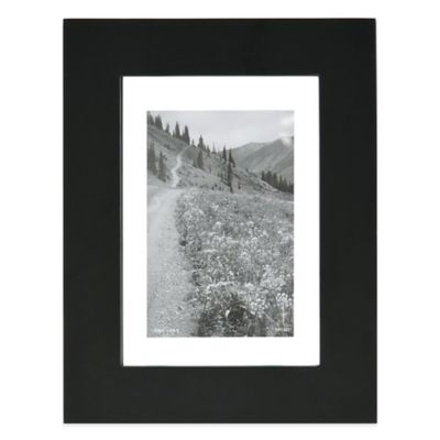 Black Wood Photo Frames