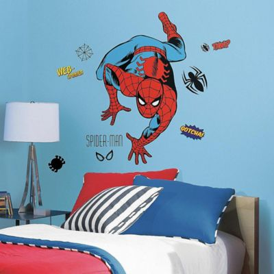 Marvel Classic Spider-Man Peel and Stick Giant Wall Decals