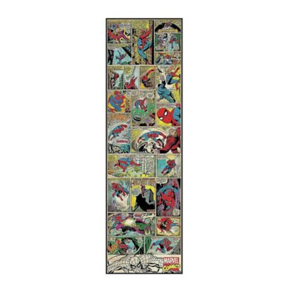 Marvel Comic Panel Spider-Man Peel and Stick 1.5-Foot x 5-Foot Panel