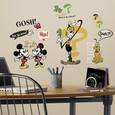 Disney® Mickey and Friends Mickey Mouse Cartoons Peel and Stick Wall Decals