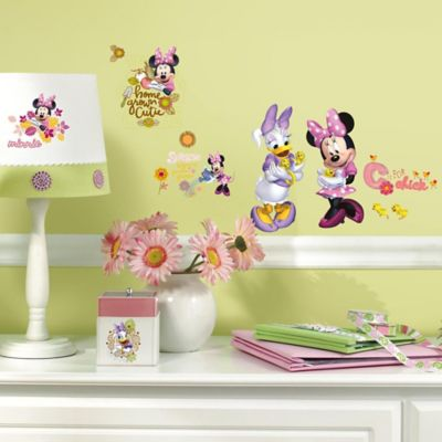 Disney® Mickey and Friends Minnie Mouse Barnyard Cuties Peel and Stick Wall Decals
