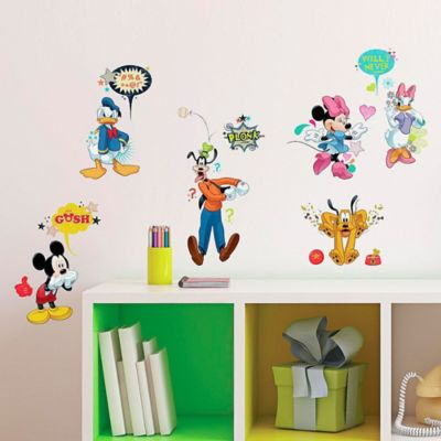 Disney® Mickey and Friends Animated Fun Peel and Stick Wall Decals