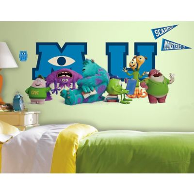 Disney® Monsters University Giant Character Collage Peel and Stick Wall Decals