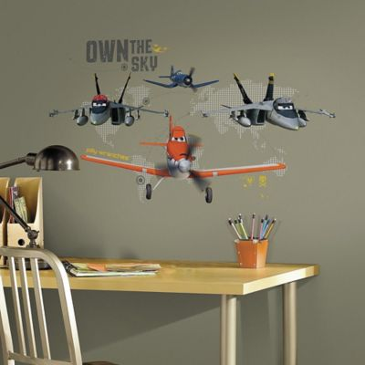 Disney® Planes Own the Sky Giant Peel and Stick Wall Decals
