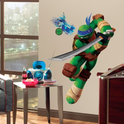 Teenage Mutant Ninja Turtles Leo Giant Peel and Stick Wall Decals