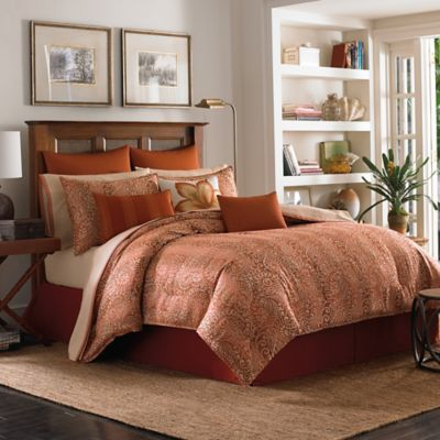 Tommy Bahama® Prince of Paisley King Duvet Cover Set