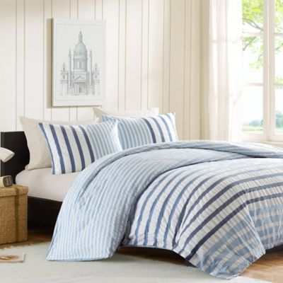 Dark Blue Duvet Cover Set