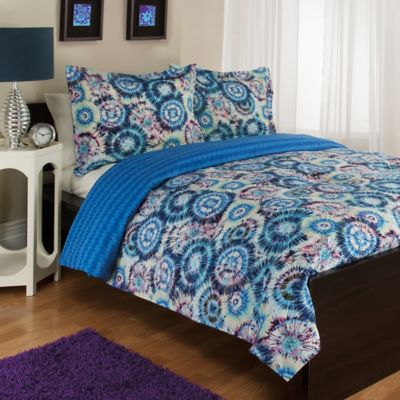 Blue and Purple Comforters