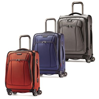 Samsonite® DK3 21-Inch Upright Spinner in Orange Zest