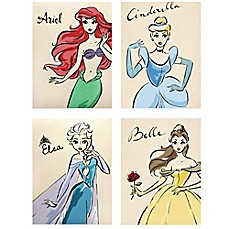 Disney 174 Princess Fashionista Wall D 233 Cor Collection Bed