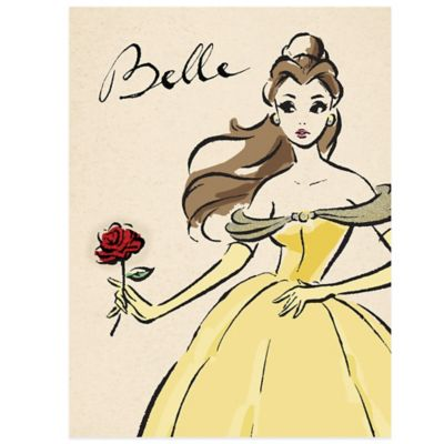 Disney 174 Princess Belle The Fashionista Wall D 233 Cor
