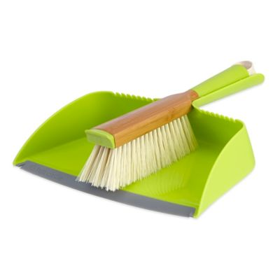 Full Circle Clean Team Dustpan Set in Green