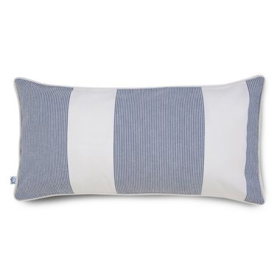 Southern Tide® Breakwater Oblong Throw Pillow in Nautical Navy