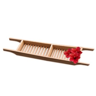 Taymor® Oversized Teak Bathtub Caddy