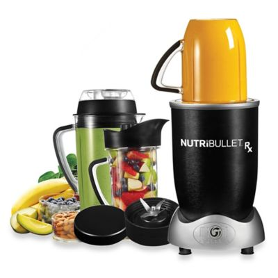 Magic Bullet® NutriBullet® Rx Nature's Prescription Superfood Nutrition Extractor in Black