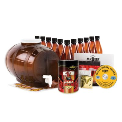 MR. BEER® Craft Brews Collection Beer Kit