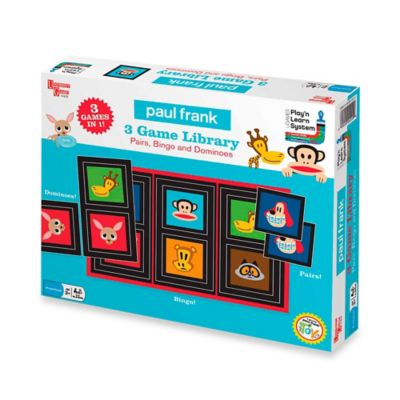 Paul Frank Pairs, Bingo and Dominoes Game Library
