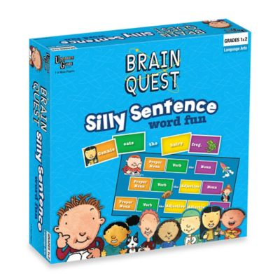 Brain Quest Silly Sentence Word Fun Game