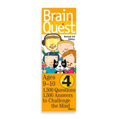 Brain Quest 4th Grade Question and Answer Game