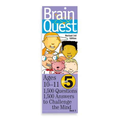 Brain Quest 5th Grade Question and Answer Game