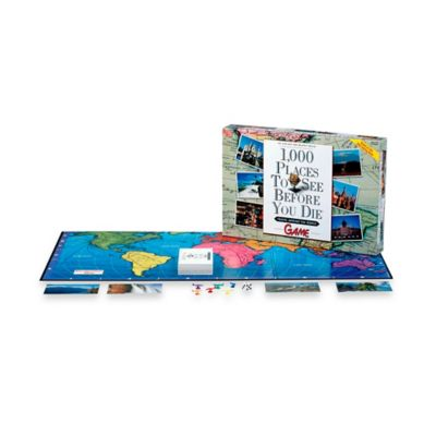 Activity > 1,000 Places to See Before You Die Board Game
