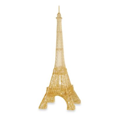 BePuzzled® 3D Crystal Eiffel Tower Puzzle (96 Pieces)