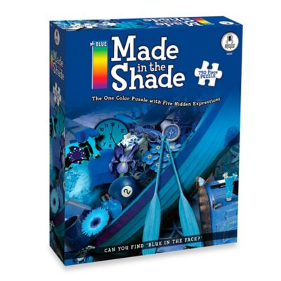 BePuzzled® 750-Piece Made in the Shade Blue Puzzle