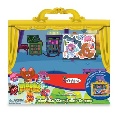 Activity > Colorforms® Moshi Monsters Colorfelts® Storyteller Scenes