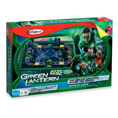 The Colorforms® Green Lantern Saves the Earth Activity Game