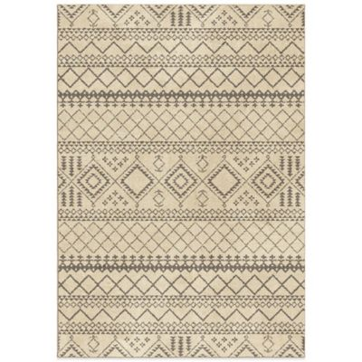 Orian Carolina Fleece Collection Beni 7-Foot 10-Inch x 10-Foot 10-Inch Rug in Smoke