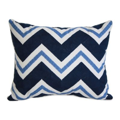 Chevron Oblong Throw Pillow Throw Pillows