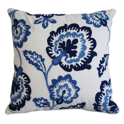 Nostalgia Home™ Shay Floral Reversible Square Throw Pillow
