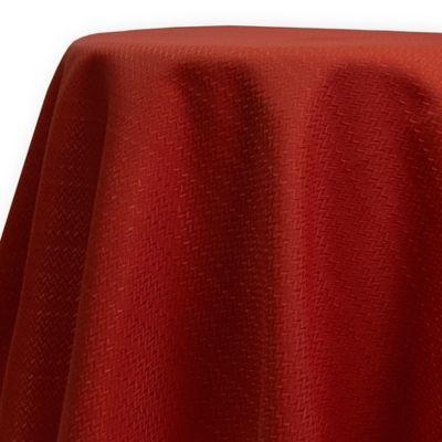 Fiesta® Zig Zag 70-Inch Round Tablecloth in Scarlet