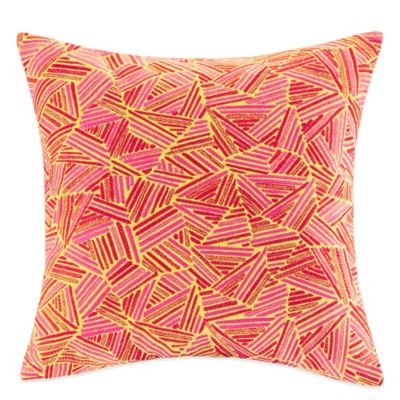 Josie by Natori Decoiserie Square Throw Pillow