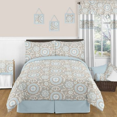 Sweet Jojo Designs Hayden 4-Piece Twin Comforter Set