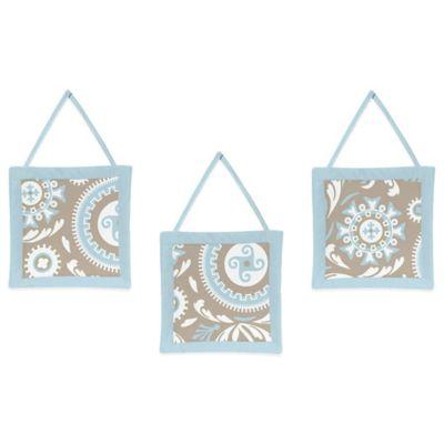 Sweet Jojo Designs Hayden 3-Piece Wall Hanging Set