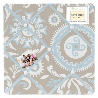 Sweet Jojo Designs Hayden Fabric Memo Board