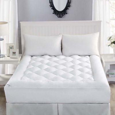 Robin Wilson Home Allergy-Free Twin Mattress Topper in White