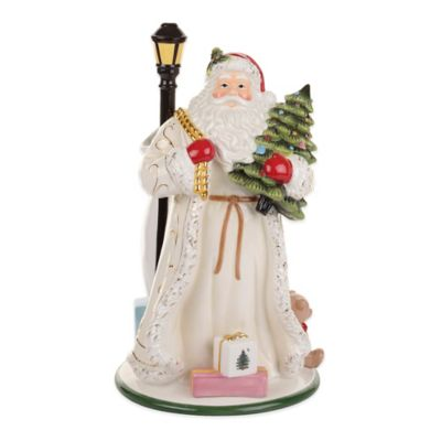 Spode® Christmas Tree Gold Santa Vase