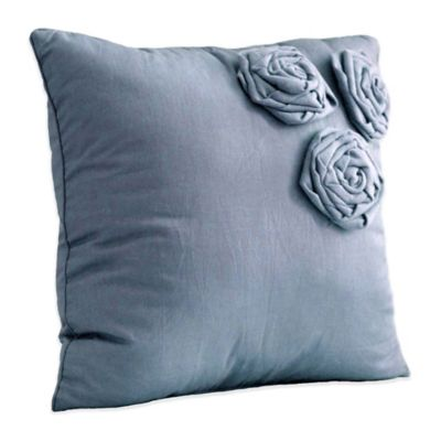 Nostalgia Home™ Neveah Square Throw Pillow in Blue