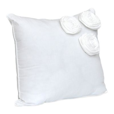 Nostalgia Home™ Neveah Square Throw Pillow in White